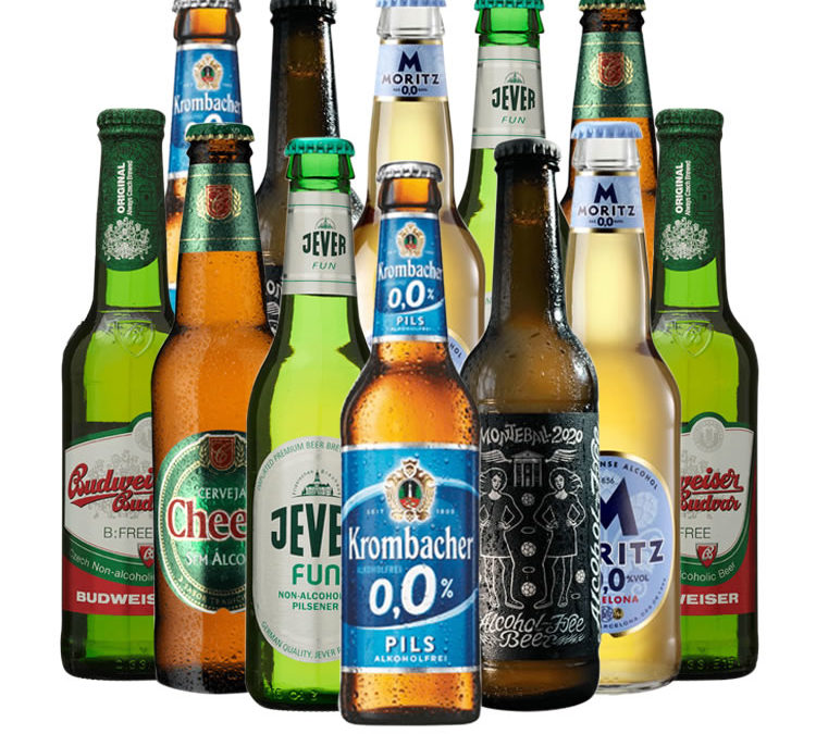 Win a mouthwatering case of 12 mixed alcohol free beers!