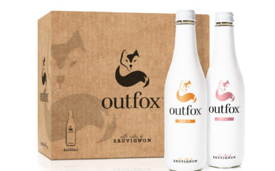 Win a case of Outfox premium non-alcoholic white and rose wine.