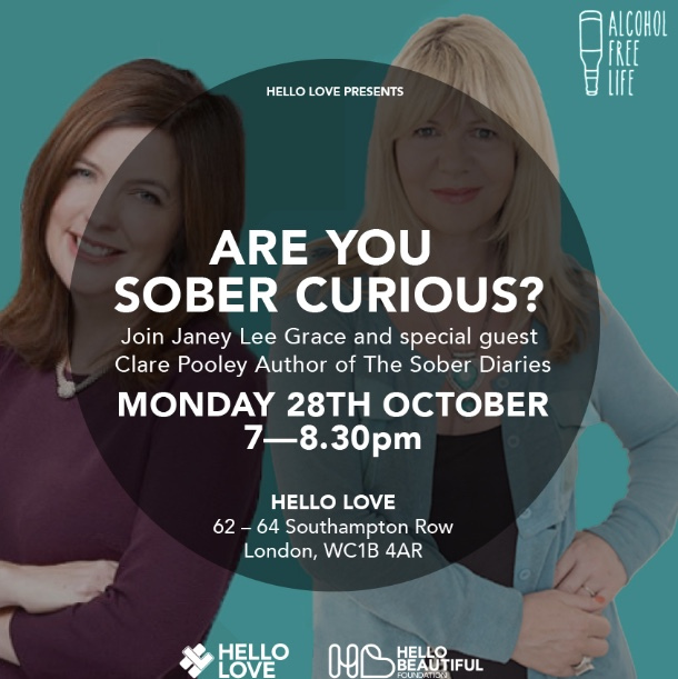 Sober Curious event with Janey and Clare Pooley