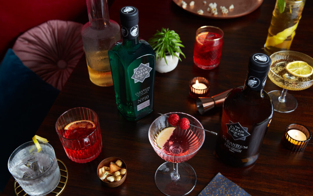 Win Drinks from the Clean Liquor company