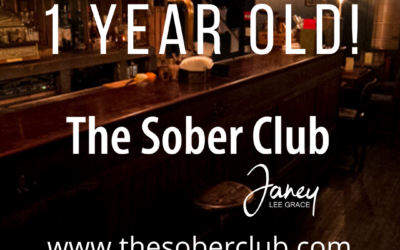 The Sober Club is almost one! Grab some gifts!