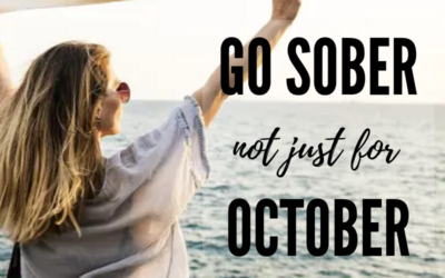 Want to Go Sober for October?